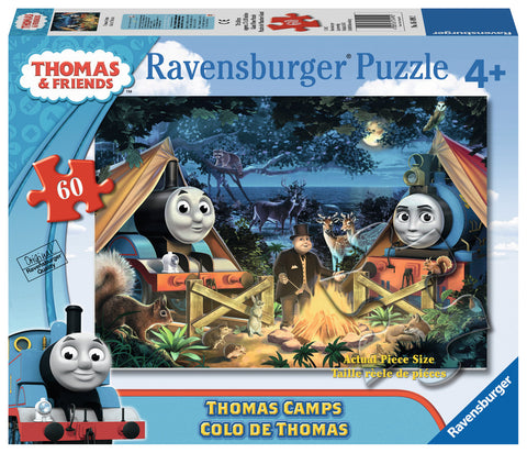 Ravensburger - Thomas & Friends: Thomas Camps Giant Floor Puzzle (60 pcs)
