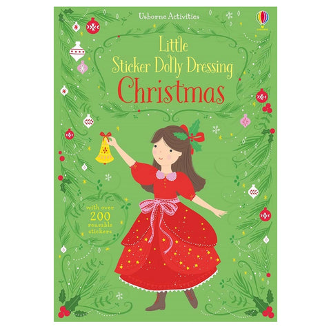 Little Sticker Dolly Dressing - Christmas
