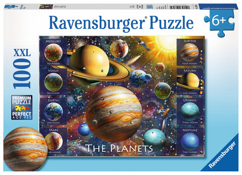 Ravensburger - The Planets XXL Puzzle (100 pcs)