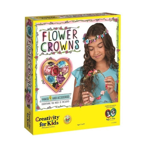 Creativity for Kids - Flower Crowns Kit - Finnegan's Toys & Gifts - 1