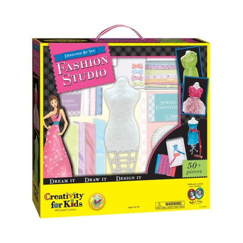 Creativity for Kids - Designed By You Fashion Studio (50+ pcs) - Finnegan's Toys & Gifts