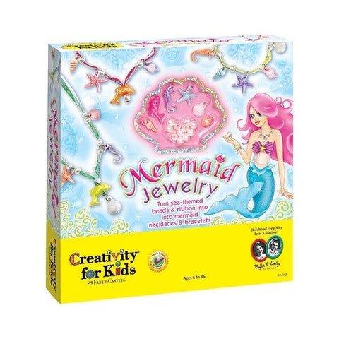 Creativity for Kids - Mermaid Jewelry - Finnegan's Toys & Gifts