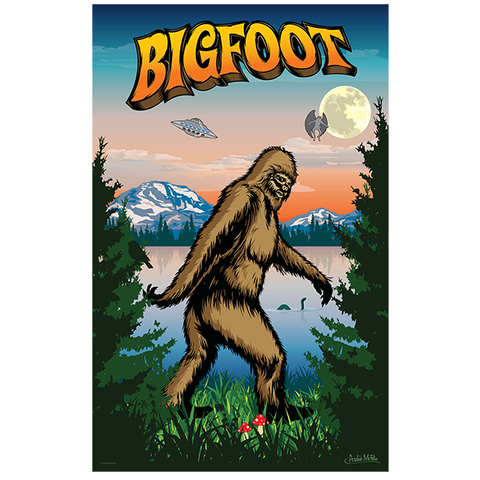 I Believe in Bigfoot 1000 pc Puzzle