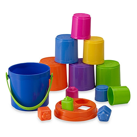 Kidoozie Nest & Stack Buckets - Finnegan's Toys & Gifts - 1
