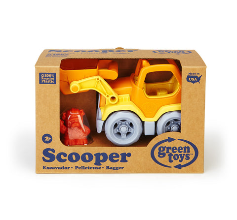 Green Toys Construction Truck - Scooper - Finnegan's Toys & Gifts - 1