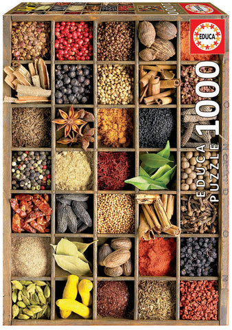 Educa - Spices Puzzle (1000 pcs)