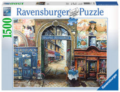 Passage to Paris 1500 pc Puzzle - Finnegan's Toys & Gifts