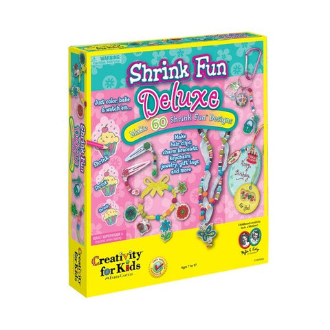 Creativity for Kids - Shrink Fun Deluxe - Finnegan's Toys & Gifts