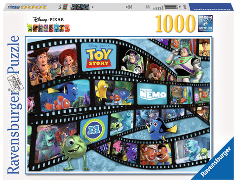 Ravensburger - Disney Pixar: Movie Reel Puzzle (1000 pcs)
