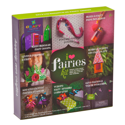 Craft-tastic - I Love Fairies Kit - Finnegan's Toys & Gifts - 1