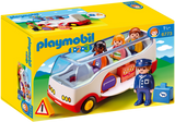 Playmobil 1.2.3 6773 - Airport Shuttle Bus