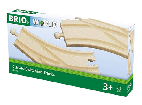 BRIO 33346 - Curved Switching Tracks