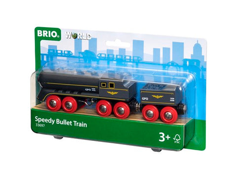 BRIO 33697 - Speedy Bullet Train