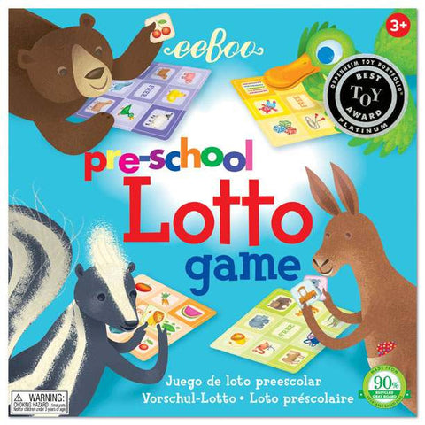 Preschool Lotto Game (3ED) - Finnegan's Toys & Gifts