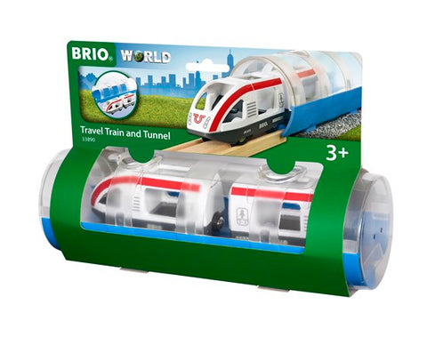 BRIO 33890 - Travel Train & Tunnel