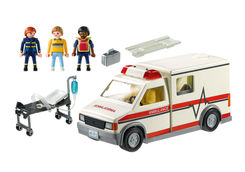 Rescue Ambulance - Playmobil 5681
