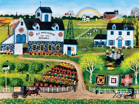 Amish Frolic Puzzle   (750pc)