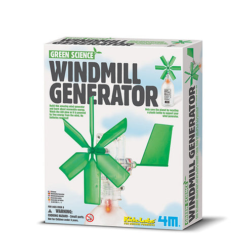 Green Science - Windmill Generator - Finnegan's Toys & Gifts