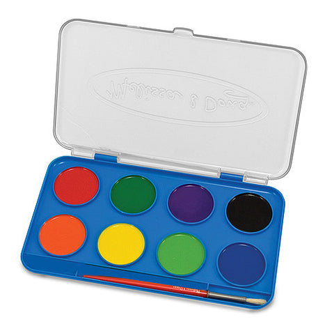 Jumbo Watercolor Paint Set 8 Colors - Finnegan's Toys & Gifts