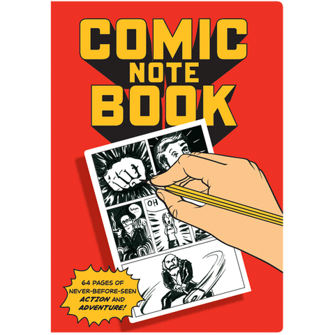 Comic Book Notebook Large
