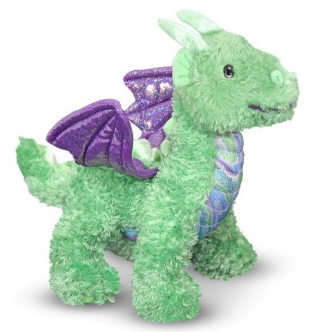 Zephyr Green Dragon Plush - Finnegan's Toys & Gifts