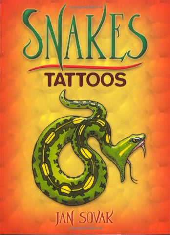 Snakes Tattoos - Tattoo Book - Finnegan's Toys & Gifts