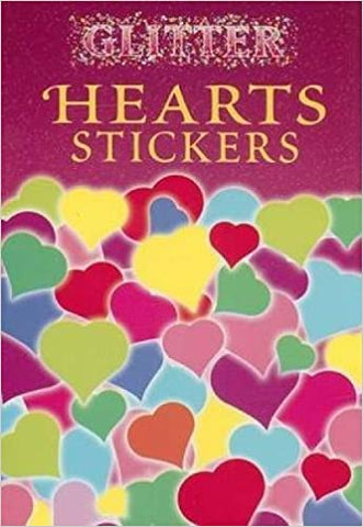 Glitter Hearts Stickers
