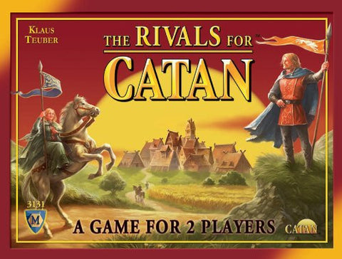 The Rivals For Catan - A Game For 2 Players - Finnegan's Toys & Gifts