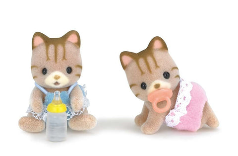 Calico Critters - Sandy Cat Twins
