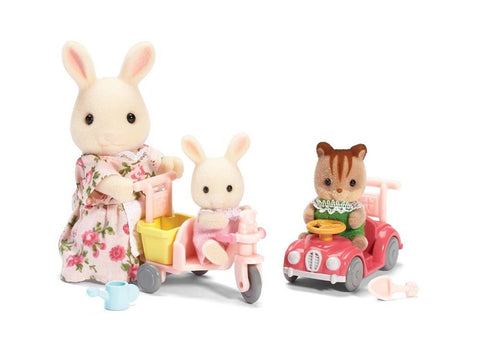 Calico Critters - Apple & Jake's Ride 'n Play