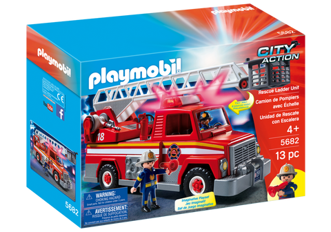 Playmobil 5682 - Rescue Ladder Unit
