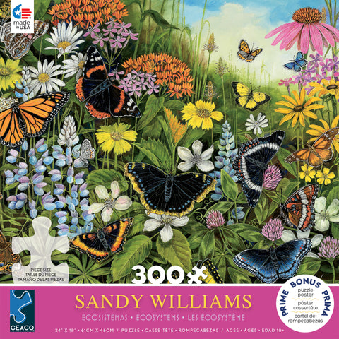Sandy Williams - Ecosystems Butterflies (300 pcs)