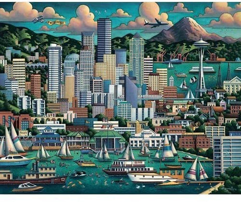 Seattle 500 pc Puzzle