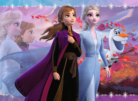 Strong Sisters Frozen II Puzzle, 100 XXL pcs