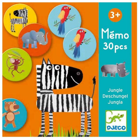 Djeco Memo Jungle 30 pc Game