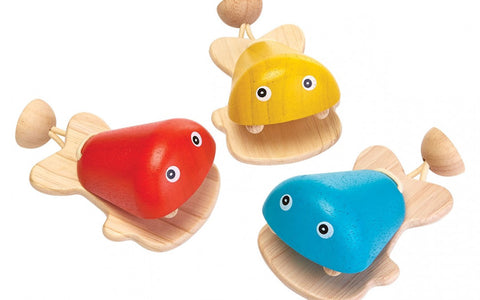 Fish Castanet - Finnegan's Toys & Gifts
