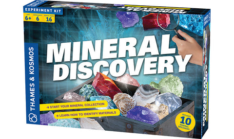 Mineral Discovery Experiment Kit