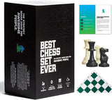 Best Chess Set Ever 3X Green Roll-Up Board