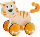 Dante Cat Push and Go Wooden Toy