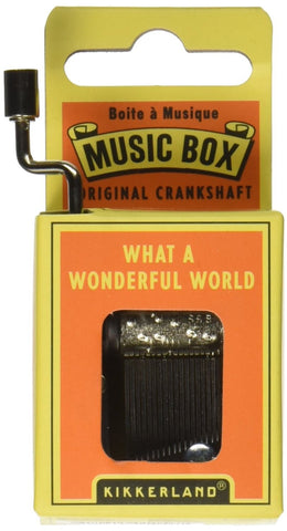 "Music Box (""What a Wonderful World"") - Finnegan's Toys & Gifts"