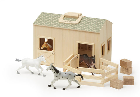 Fold & Go Stable - Finnegan's Toys & Gifts