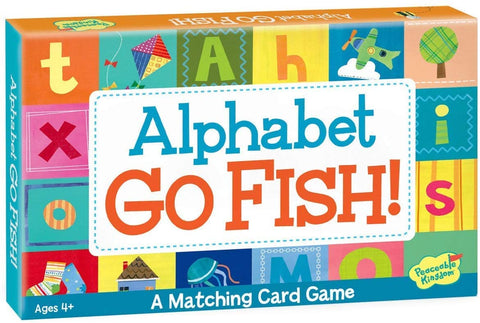 Alphabet Go Fish! Matching Card Game