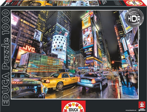 Times Square NY - 1000 Piece Puzzle - Finnegan's Toys & Gifts