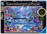 Moonlit Magic,  500 pc Glow in the Dark Puzzle