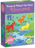 Unicorn Match Up Puzzle and Game
