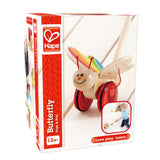 Hape Butterfly Push Toy - Finnegan's Toys & Gifts - 1