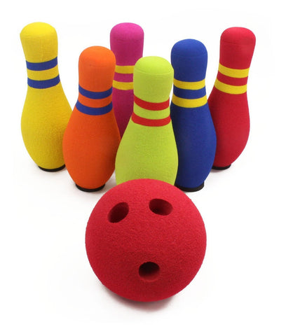 Kidoozie 6 Pin Bowling Set - Finnegan's Toys & Gifts