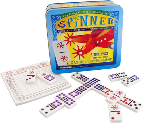 Spinner - The Game of Wild Dominoes!
