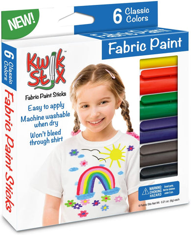 Fabric Stix Fabric Paint- 6 pack