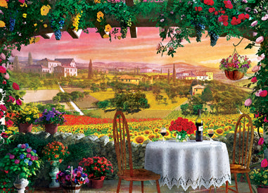 Tuscany Hills View - Belle Vue 1000pc Puzzle